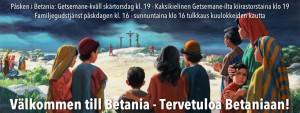 Getsemane-kväll / Getsemane-ilta @ Betania | Finland