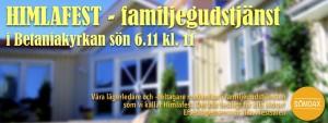 Familjegudstjänst HIMLAFEST @ Betania | Finland