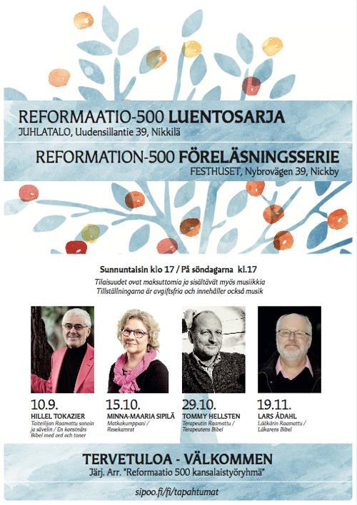 Ref 500 luennot: Hillel Tokazier @ Sibbo Festsal | Finland