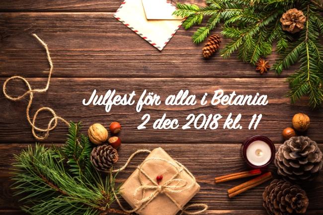 Julfest för alla @ Betania | Finland