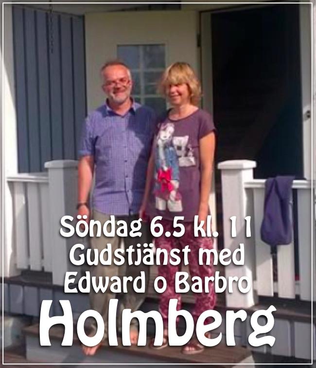 Gudstjänst med Barbro & Edward Holmberg @ Betania | Finland