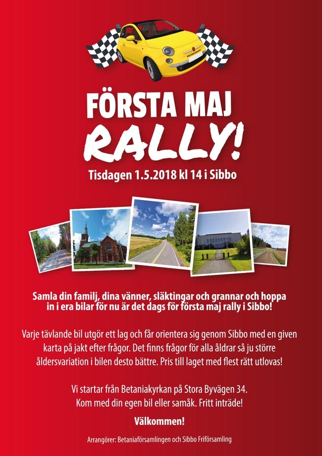 1 maj rally i Sibbo @ Betania | Finland