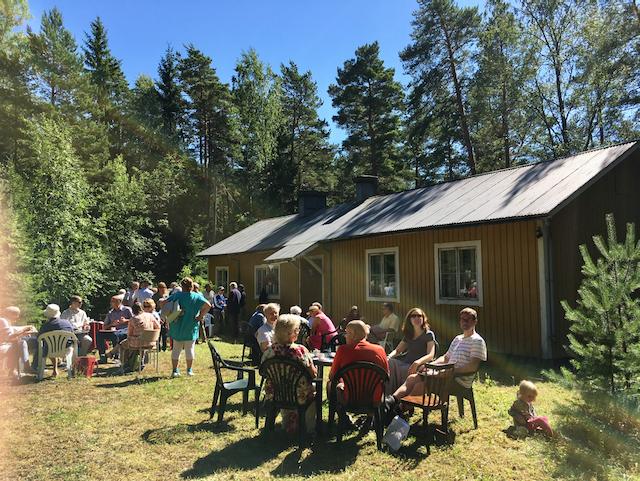 Sommarmöte med Ann-Lis och Håkan Nitovuori @ Sion, Simsalö | Finland
