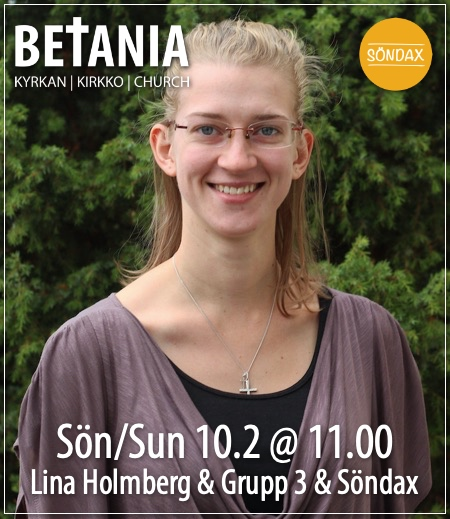 Gudstjänst med Lina Holmberg @ Betania