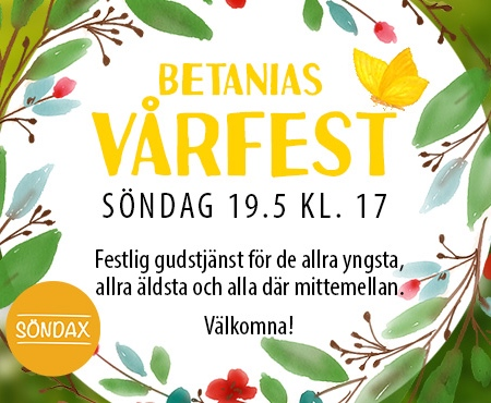 Betanias vårfest för alla åldrar @ Betania
