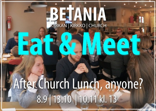 Eat & Meet @ Nickby