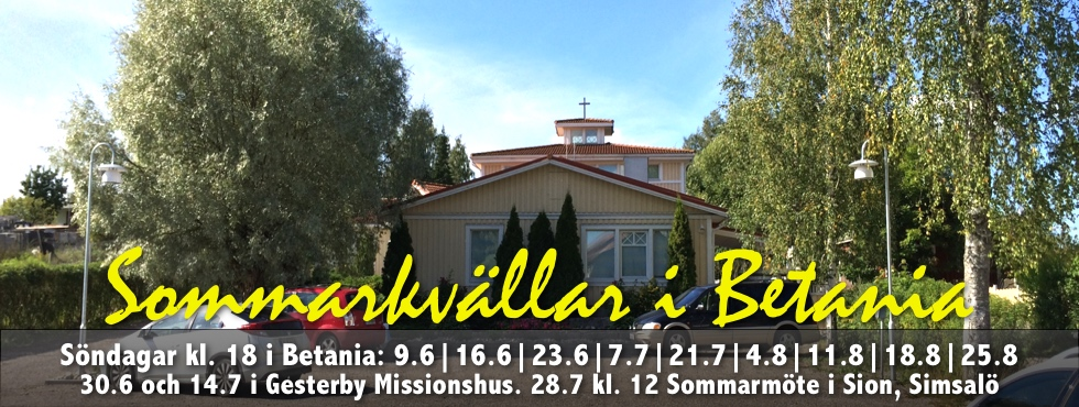 Sommarkväll i Gesterby Missionshus @ Missionshuset