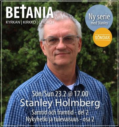 Gudstjänst med Stanley Holmberg @ Betania | Finland
